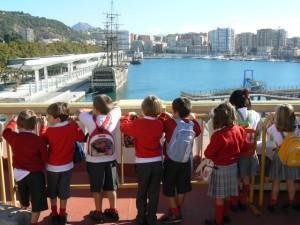 Visita al Puerto de Málaga