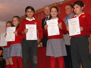 Entrega de diplomas Cambridge en Noviembre de 2011