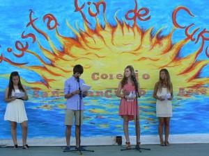 Celebración de la Fiesta Fin de Curso 2012