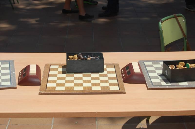 Entrega de premios de la actividad ajedrez