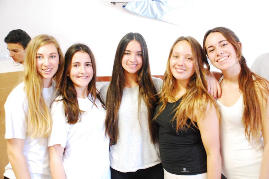 Grupo de alumnas de Bachillerato