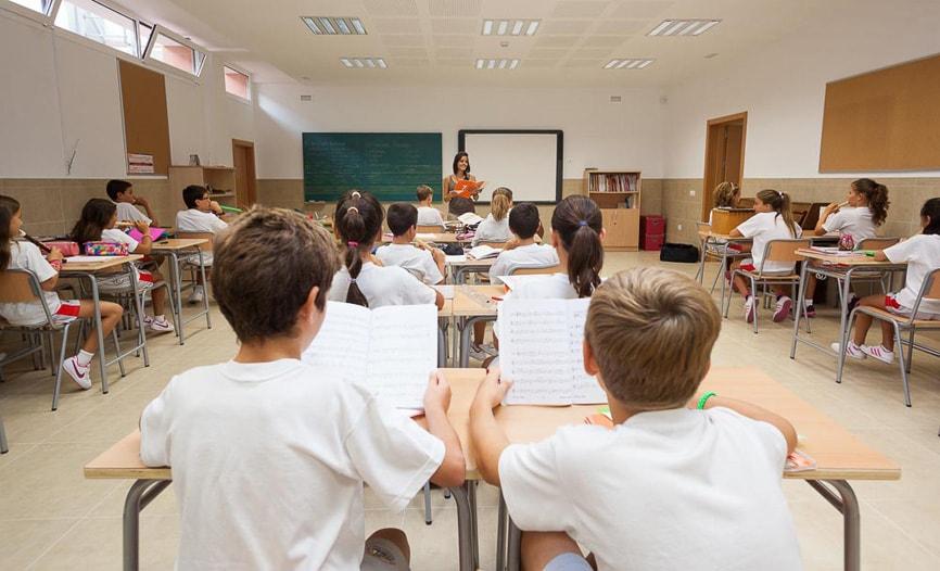 Aula de música del Colegio San Francisco de Asís