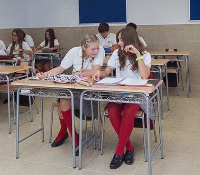 Convivencia de alumnos del Colegio San Francisco de Asís