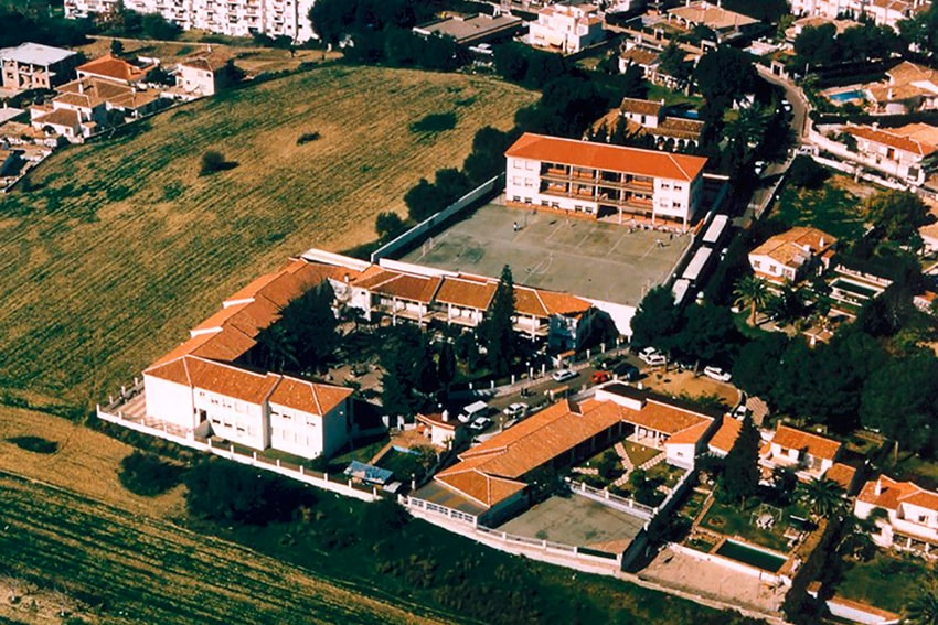Vista aerea Colegio