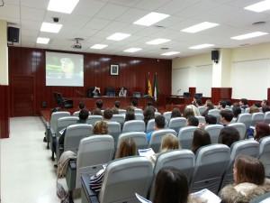 Visita de los alumnos de Bachillerato a la UMA