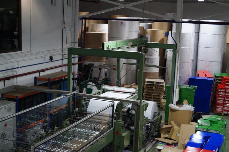 Visita a la Fábrica de Liderpapel