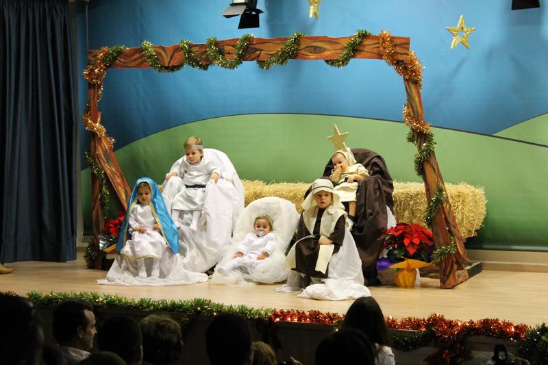 Teatro de Navidad de los «peques del Cole»