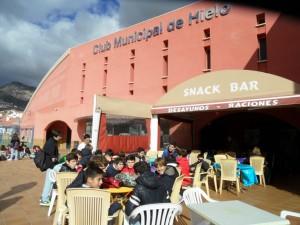 Excursión Club Municipal de Hielo (1º ESO)