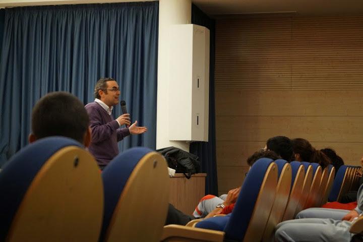 Charlas de Orientación Profesional (Rodrigo Romero, Concejal de Cultura)