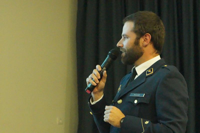 Charlas de orientación profesional (carrera militar)