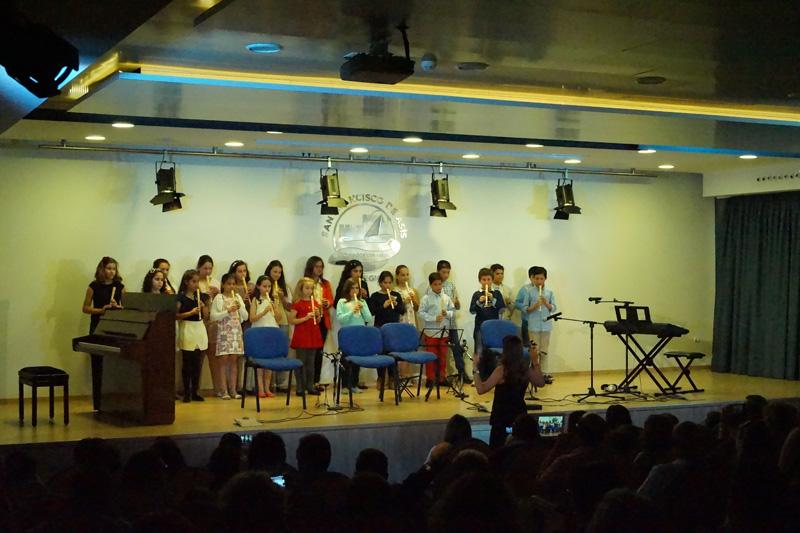 Concierto de coro, teclado y guitarra