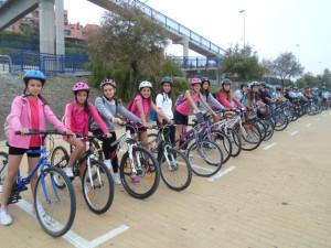 Excursión en bicicleta 1º ESO