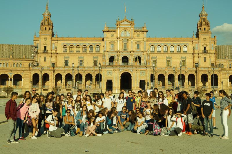 Excursión Sevilla (alumnos de 3º ESO)