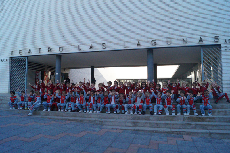 Minimusical en el Teatro de las Lagunas