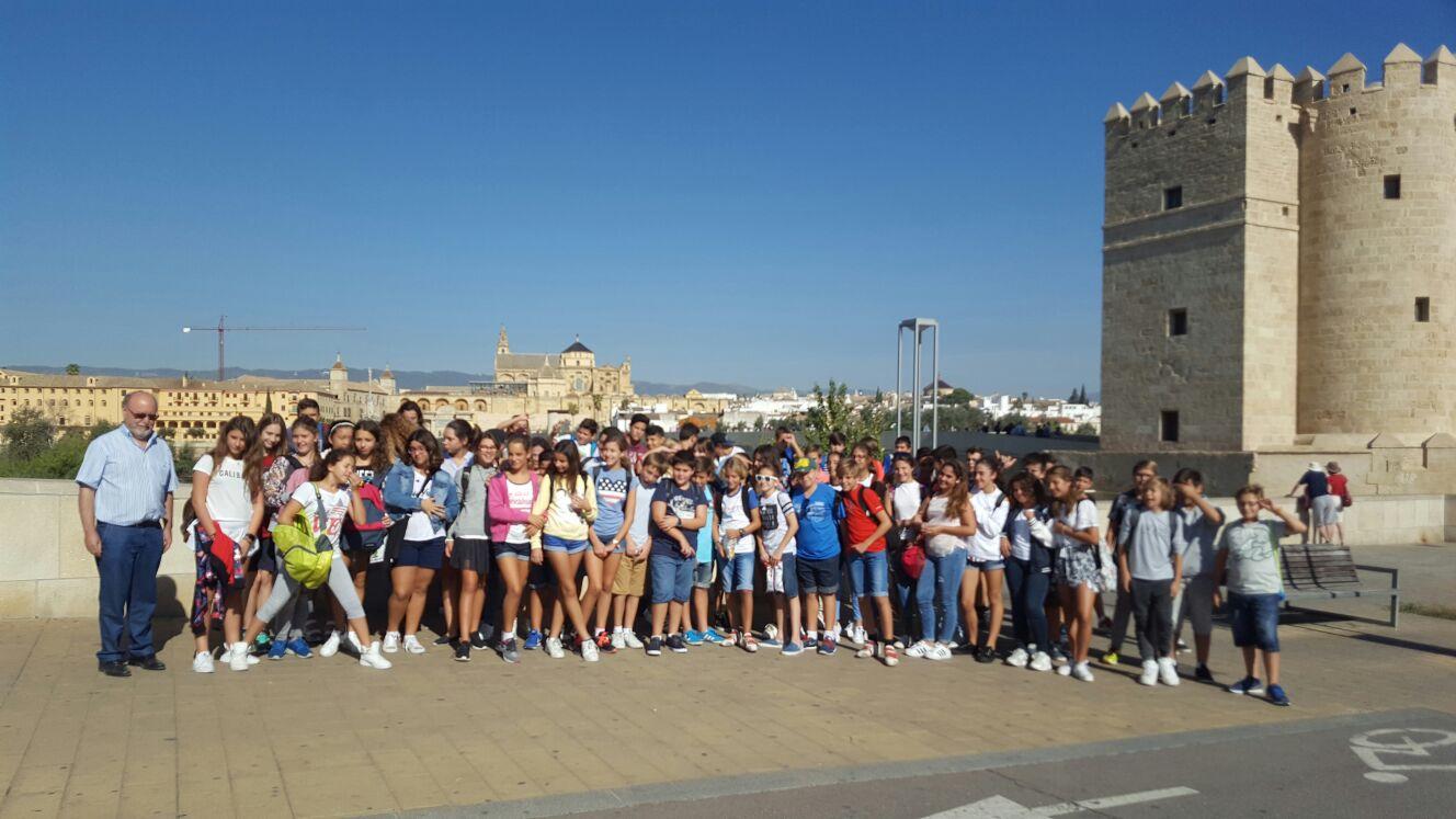 Viaje a Córdoba alumnos de 1º ESO