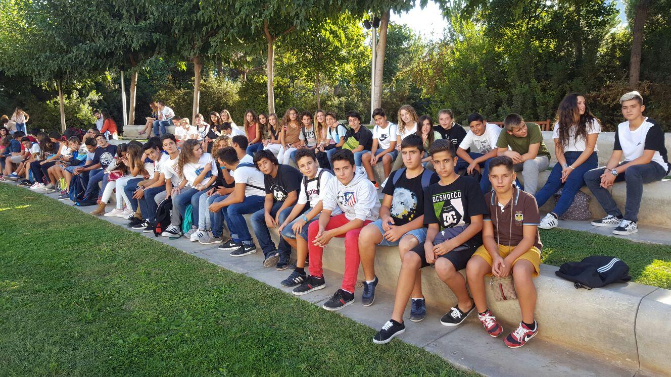 Viaje a Granada alumnos de 2º ESO