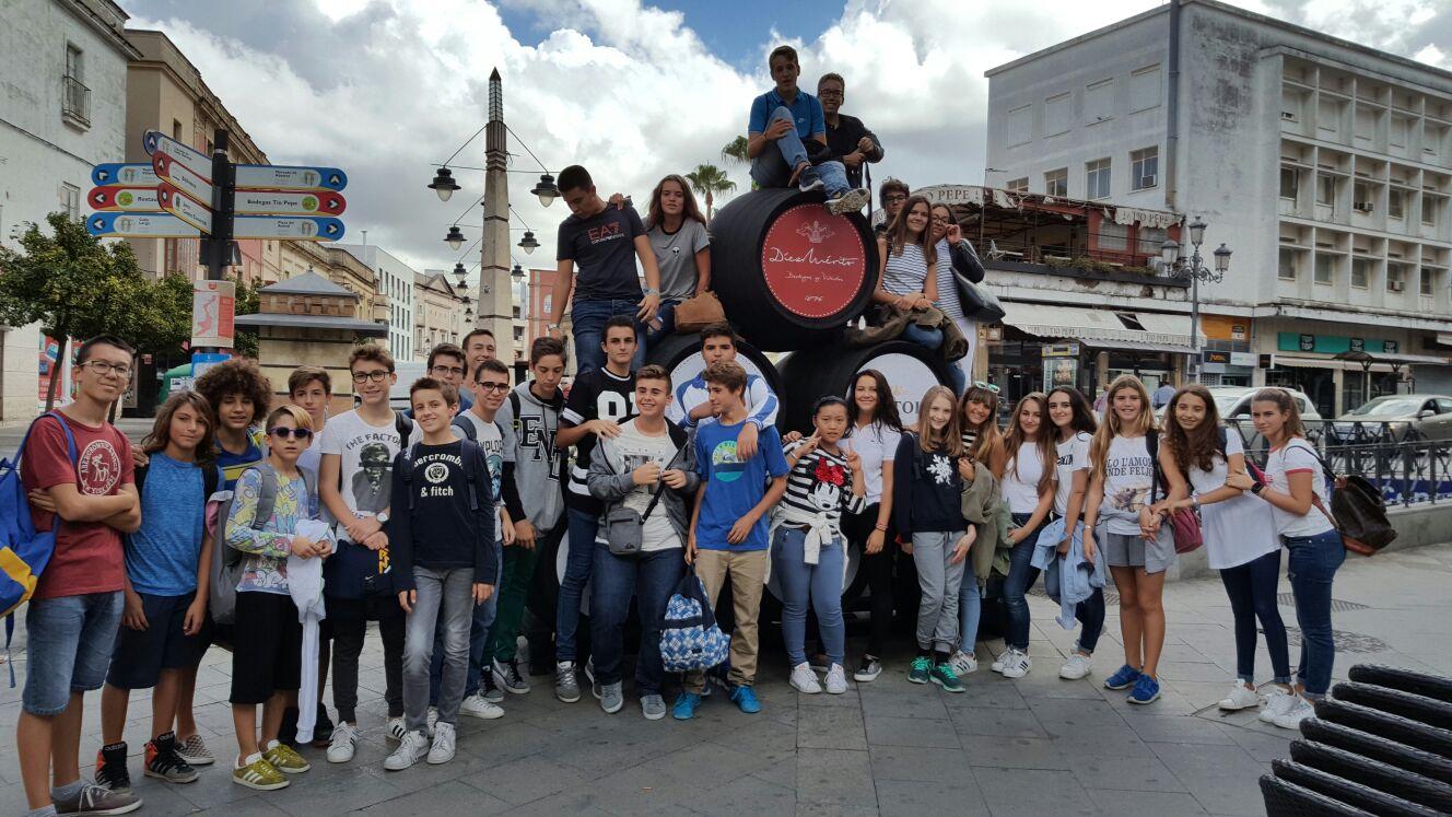 Viaje a Jerez alumnos de 4º ESO