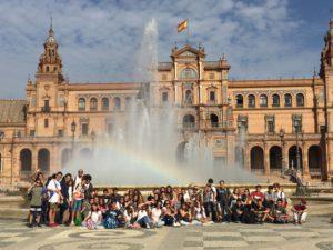 Viaje a Sevilla de los alumnos de 3º ESO