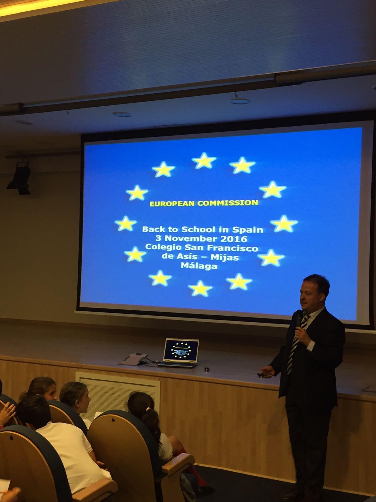 Conferencia Unión Europea