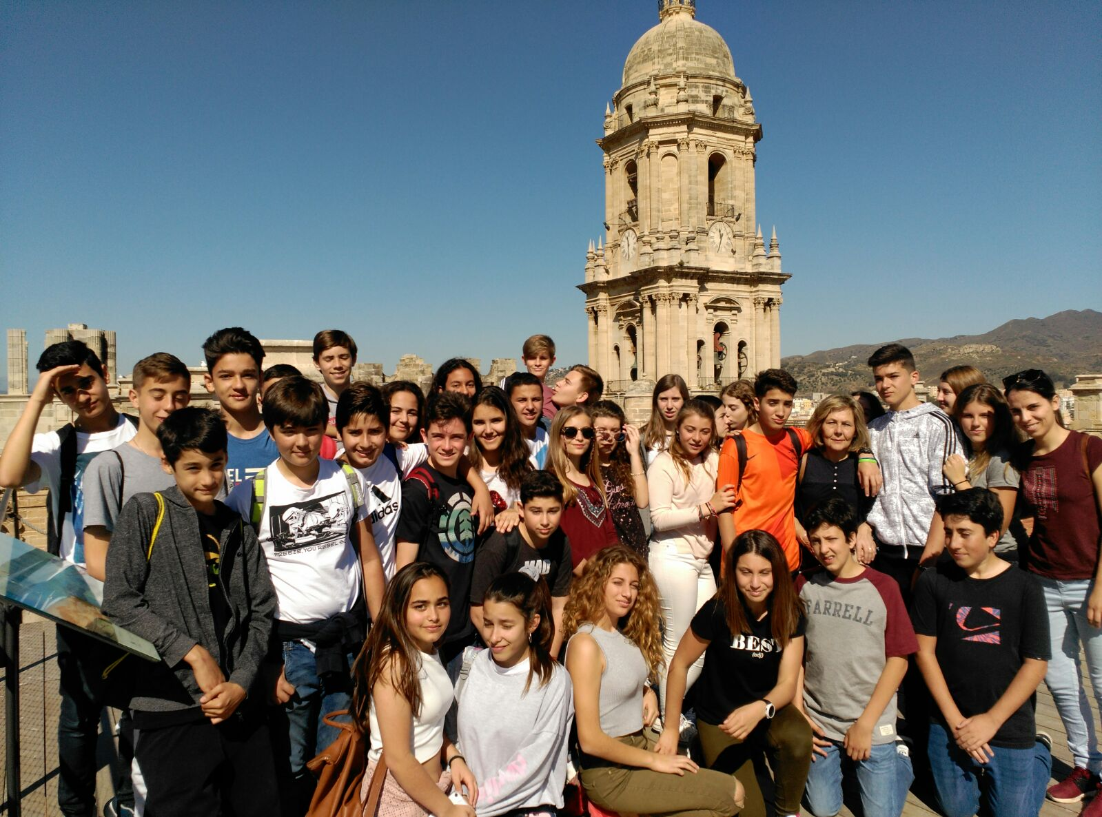 Visita a Málaga
