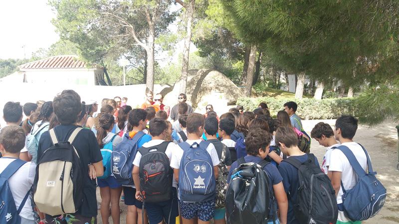 Excursión de los alumnos de 1º de ESO al Chorro