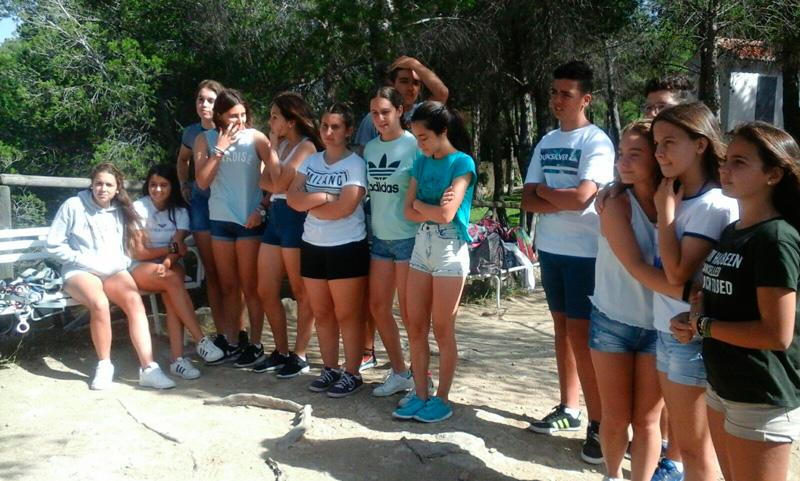 Excursión de los alumnos de 3º de ESO al Chorro