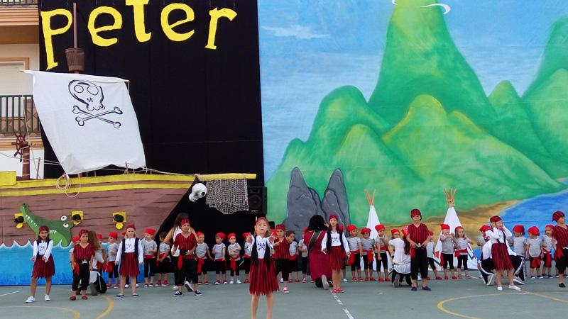 Peter Pan. Fiesta de Fin de Curso 2016