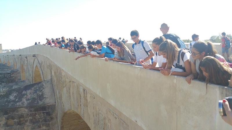 Visita a Córdoba, alumnos de 1º ESO