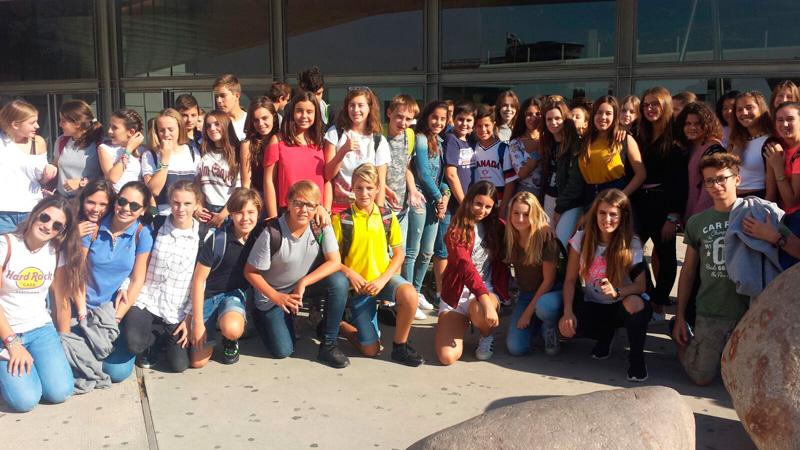 Visita a Granada, alumnos de 2º ESO