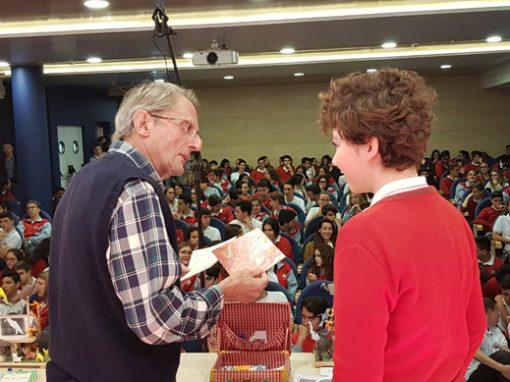 Entrega de premios del Concurso de Relatos Cortos