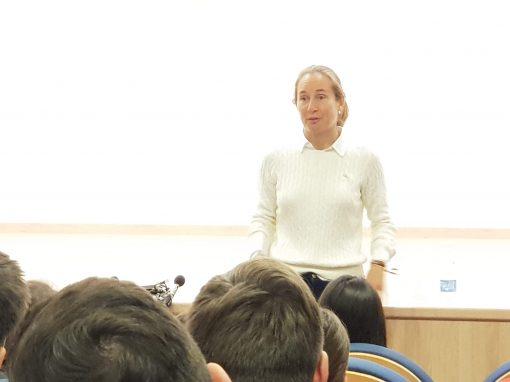 Charlas de Orientación Profesional: Carolina Navarro deportista de élite