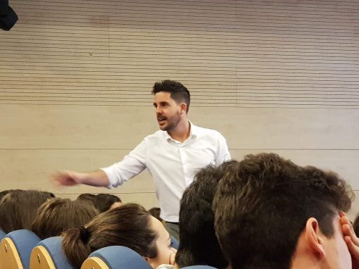 Charla de Orientación Profesional: Carlos Acosta