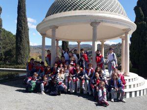 Visita jardín Botánico alumnos de 4º de Primaria